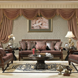 ideas-living-room-charming-traditional-formal-living-room-decors-with-brown-velvet-traditional-sofa-set-added-rounded-pedestal-coffee-table-on-living-room-rugs-as-well-as-brown-fabric-wall-curtains-i-
