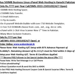 Buy-500MB-Business-Web-Hosting-in-Pakistan-at-03332303103