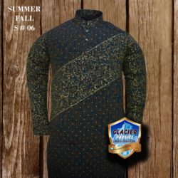Brown and Blue Washnwear Unstitched Kurta Summer Collection S06