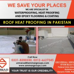 Roof Heat Proofing in Pkistan
