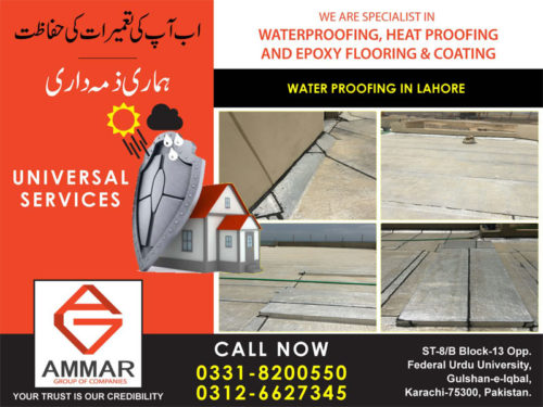 Waterproofing-in-lahore
