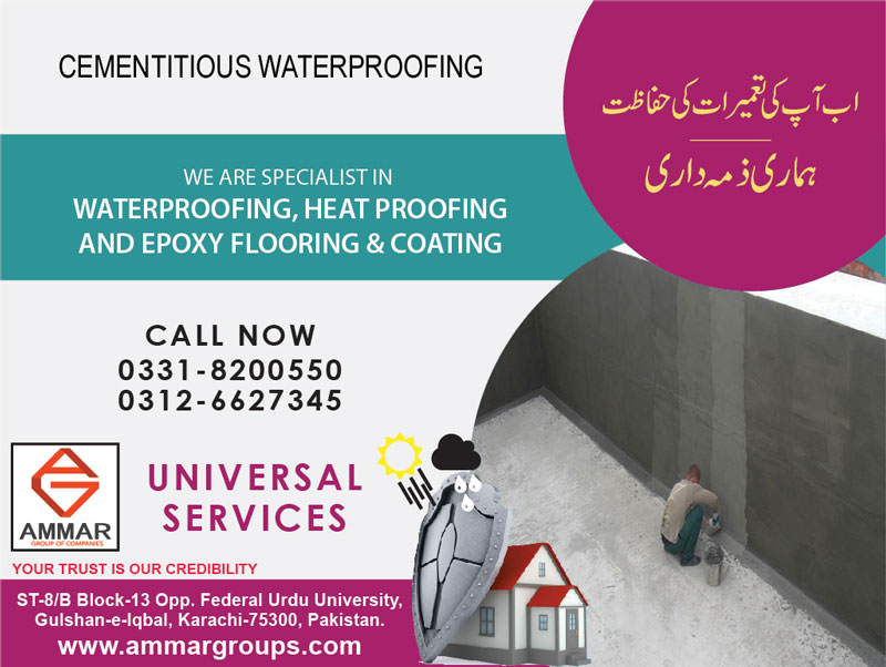 Cementitious-waterproofing