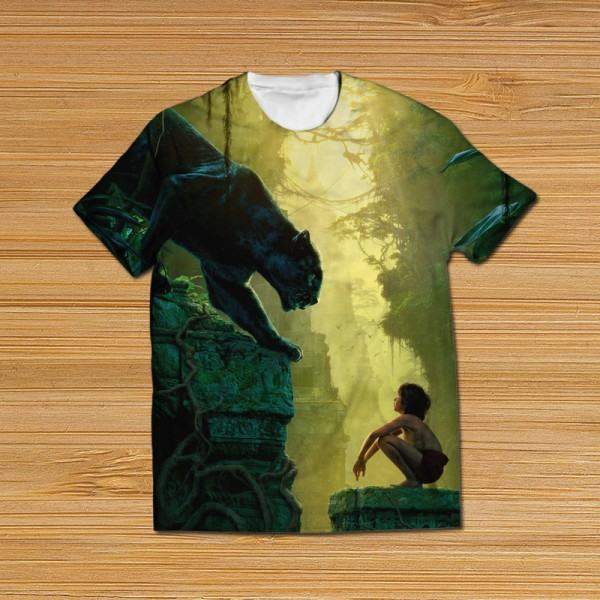 Jungle book all over printed t shirt becho pk free for Books printed on t shirts